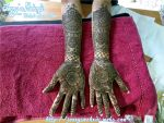 Lacky bridal mehndi 16.08.2012 by JennysMehndi