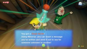 Wind Waker HD: Tingle...Bottle? by RazorVolare