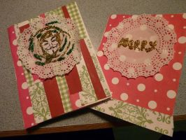 2 more hand made cards by LW-Lucy