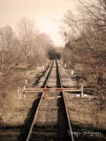 At the end of the railroad -EDITED- by kgbphoto