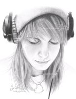 Hayley Williams by Loonaki