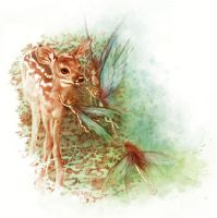 The Fawn by LeslieEvans