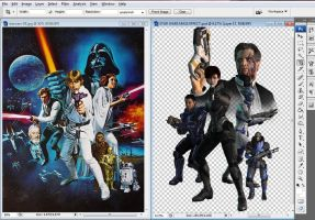 WIP Star Wars / Mass Effect by mandyalenko