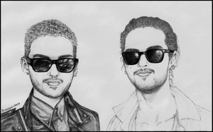Happy birthday Bill and Tom by lionessgirl2007