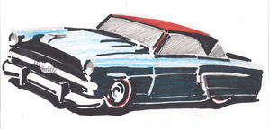 1953 Ford Crown Victoria by AlexandrVirus
