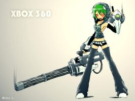 Xbox 360 by Mikeinel
