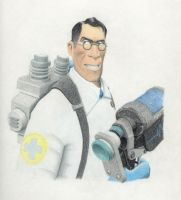 Medic with Blutsauger by Automateer