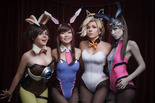 Overwatch Bunny Team by fenixfatalist