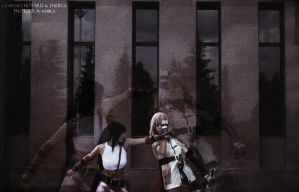 Tifa vs. Lightning: CLASH by NightNike