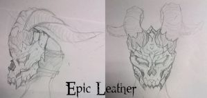 Concept: Horned Plight of Delirium by Epic-Leather