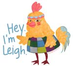 Leigh the Chicken by naraeeee