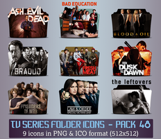TV Series - Icon Pack 48 by apollojr