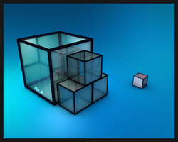 one cube along by hakimbo