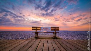 Sunset, seat and sea by jeje62