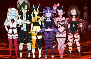 Succubi Redesigns by sexehpimp