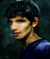 Colin Morgan by Gelieta