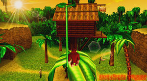 Donkey Kong 64 HD (2K mockup screenshot) by Dreambrush