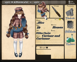 Alice in Wonderland Application Update by willow-wishes