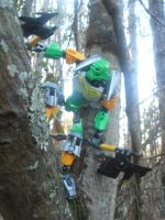 Toa-Hero of the High Trees by SpudYeisleyCreations