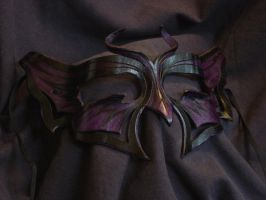 Butterfly: black + purple by VirtualMessiah