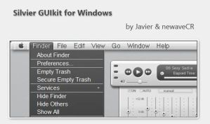 Silvier GUIkit for Windows by NewaveCR