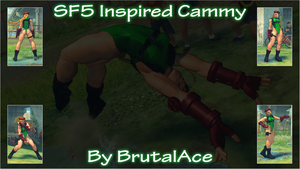 SF5 Inspired Cammy By BrutalAce by BrutalAce