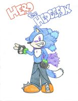 Hero the Hedgefox by AllHailWeegee