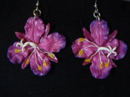 Fireweed Earrings by Ethereal-Beings