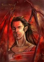 Smaug the Dragon by Kinko-White