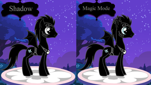Shadow Normal and Magic by PiccoloFreakNamick