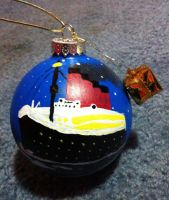 Titanic Ornament by Duchess-of-Dismal