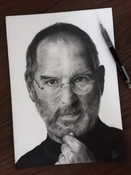 Steve Jobs by raphafs