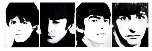 The Beatles by mixtapegoddess