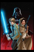 Star Wars Vader Down #1 Cover (Unofficial colors) by Hitokirisan