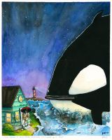 i have dreams of orca whales by PattKelley
