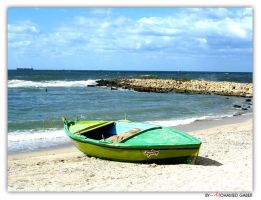 SMALL BOAT by mgaber