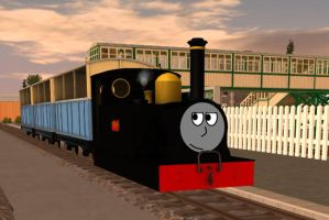 Tim was a mysterious engine... by Trainmaster3468