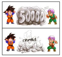 DBZ: 50000 Hits by Risachantag