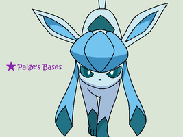 Shaded Glaceon Base by Paige-the-unicorn