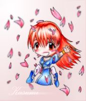 DEAD OR ALIVE - Kasumi Chibi by softschitzolove