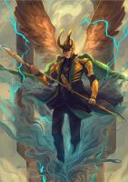 Loki by kou-chann