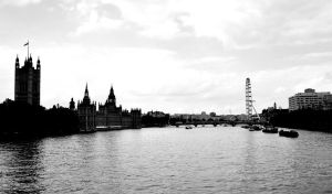 London from Lambeth Bridge by kabrex
