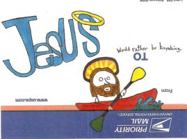 Jesus H. Christ: Outdoorsman by Musical-Spoon