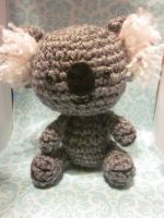Kawaii Koala Amigurumi Doll by Spudsstitches