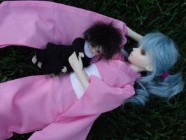 YYH: Resting by Possessed-Puppet