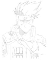 Kakashi Hatake (Scanned) by Girl-Zutarian13