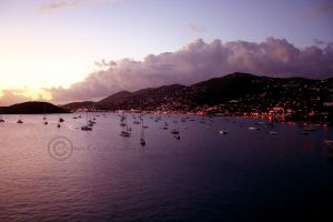 Sunset in St. Thomas by manticor