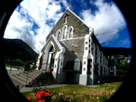 Church in Queenstown_1 by augustinesoong