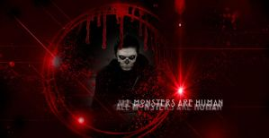 evan peters -tate langdon-american horror  story by L-A-Addams-Art