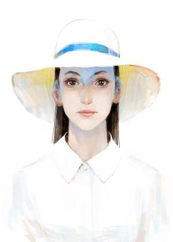 white hat by tahra